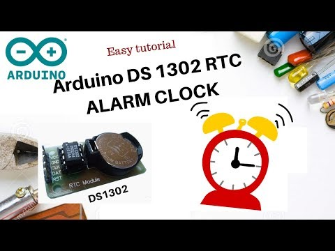 EASY Arduino Alarm Clock based on DS1302 RTC