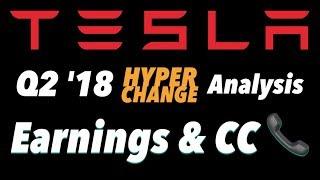 Tesla Q2 '18 Earnings Analysis 📈 🚀