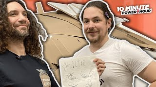 Building Ikea's most difficult furniture: THE DIVORCEMAKER - 10 Minute Power Hour
