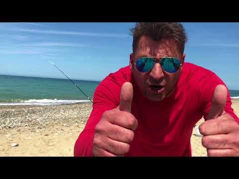 Inverno trogolo di nutrizione di video da pesca