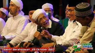 Ceramah mbah Maimoen Zubair Part 02 Live Santri Bersholawat Kudus 2017