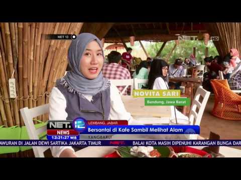 Video Tempat Wisata Hits di Lembang Bandung, Foto Diatas Ketinggian - NET12