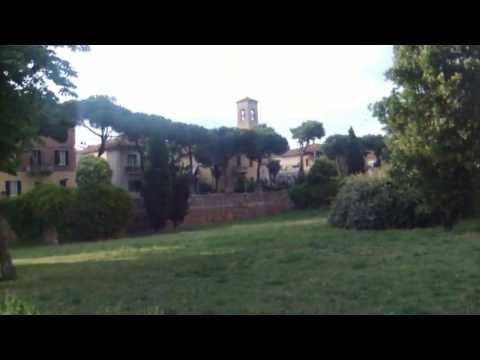 Римини прогулка по парку от арки Августа