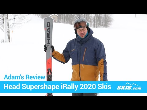Video: Head Supershape iRally Skis 2020 1 50