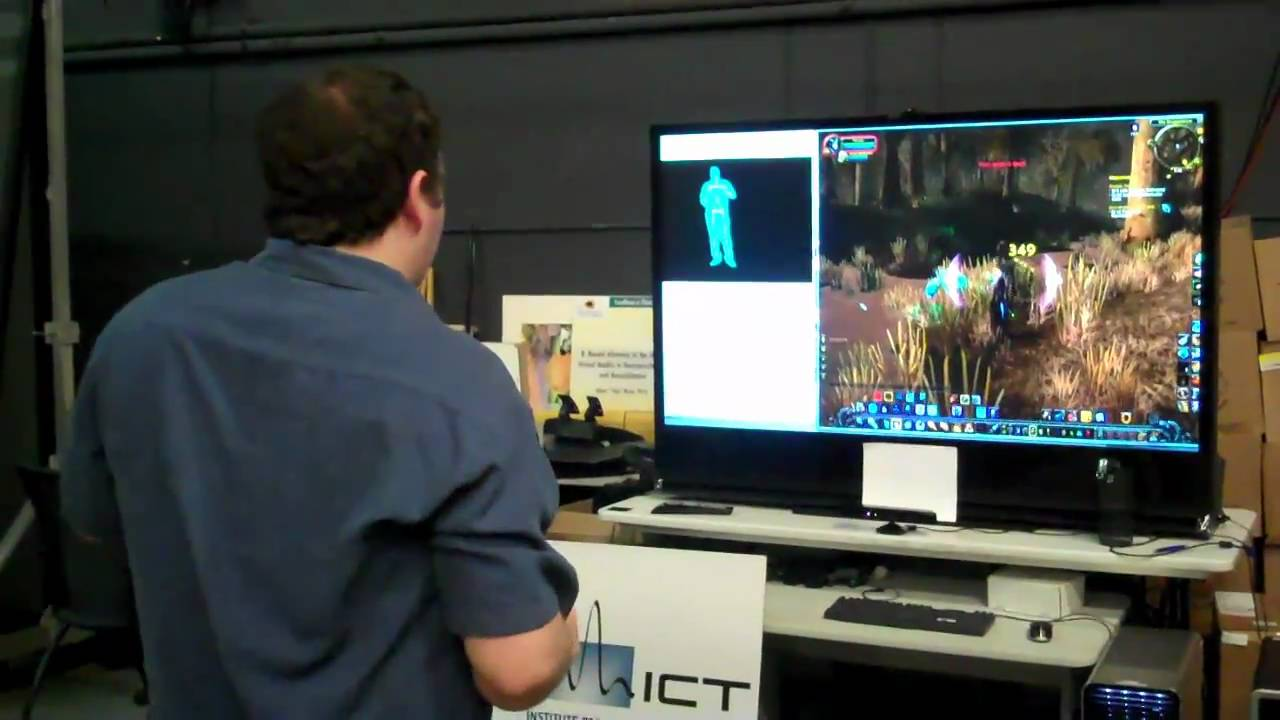 Kinect Hacked To Play World Of Warcraft