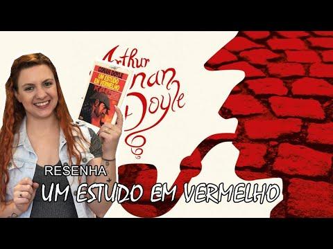 [Resenha] - Um estudo em vermelho - Arthur Conan Doyle | Blog Leitura Virtual por Carol Mariotti