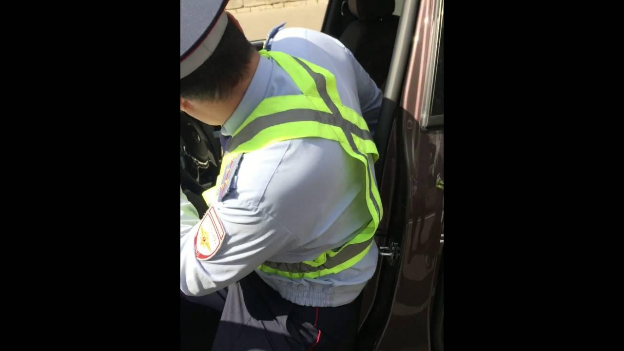 ДПС против Rolls Royce - полицейский беспредел