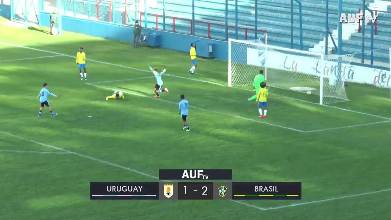 Sub-15 | Uruguay 1-2 Brasil (25/6/19)