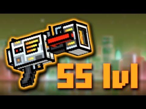 55 Lvl : Anti Gravity Blaster - Pixel Gun 3D - JustZaku