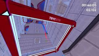 FPV Drone Racing DRL Simulator - Half Decent Lap
