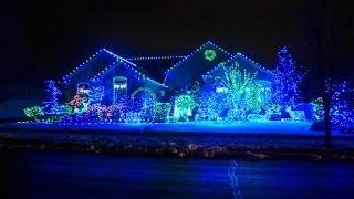 США. Как украшают дома на Рождество в Америке. Рождественские традиции в Америке.