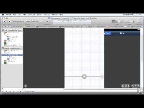 Objective C Programming Tutorial | Building The Interface