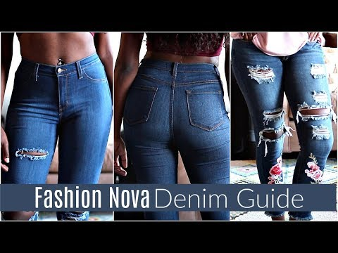 Fashion Nova Denim Try On Haul + Review | Is it worth the hype?