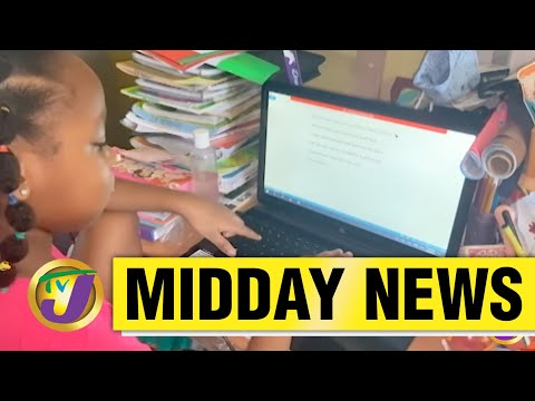 Jamaican Gov't to Spend $300M on Tablets Face to Face Classes to Resume May 6 2021