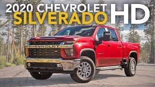 2020 Chevrolet Silverado 2500HD Review - First Drive