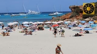 preview picture of video 'FORMENTERA - Ibiza Teil 4 Insel der türkisfarbenen Traumstrände Balearen SPAIN'