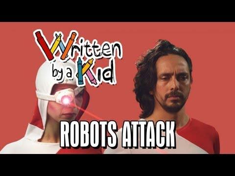 Napsáno dítětem #6: Roboti útočí