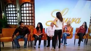 Zury De Enamorandonos Trabajando De Extra Con Laura Bozo