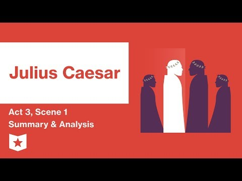 summarize artemidorus letter to caesar in act 2 scene 3