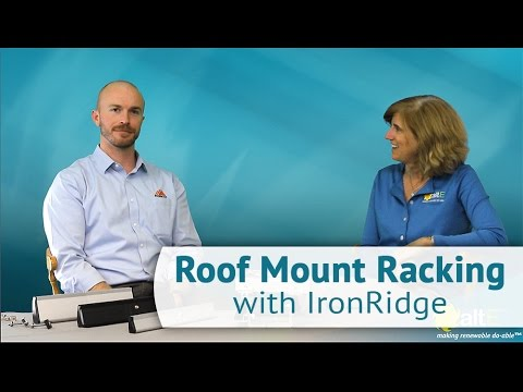 IronRidge XR Series Roof Mounting Rail Options | Overview