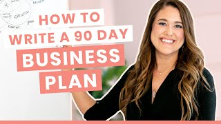 How to Write a 90 Day Business Plan (TPL 055)