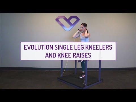 Evolution Single Leg Kneelers and Knee Raises
