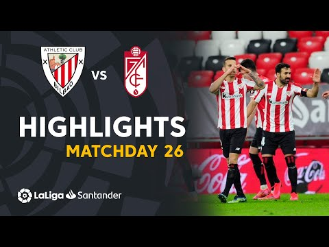 Highlights I Athletic Club 2-1 Granada CF I LaLiga Matchday 26