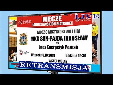 🔴🎦 [NA ŻYWO] 🏐 SAN-PAJDA Jarosław 🆚 ENEA ENERGETYK Poznań 📆[2019-10-15] ⏰[godz.15.30]