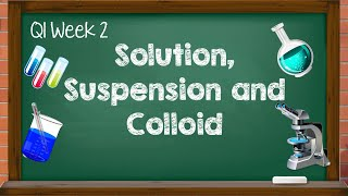 Science 6 - Q1 Week 2 | Solution, Suspension, Colloid