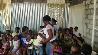 preview picture of video 'Mission trip to Haiti. Give out back pack to Haitian children's in Haiti.'
