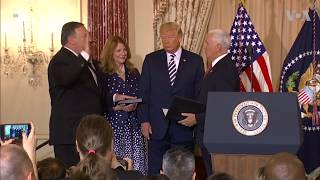 Mike Pompeo Swears In as US Secretary of State