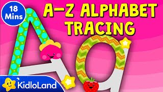 A-Z Alphabet Tracing (Uppercase Letters & Lowercase Letters) By KidloLand