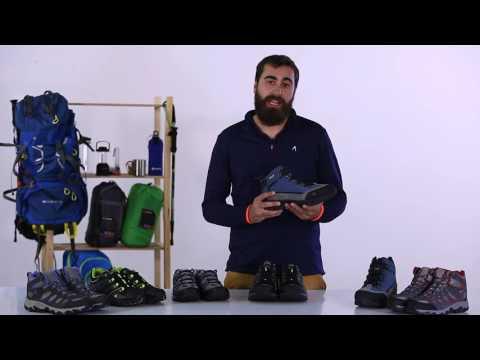 ¿Cómo elegir tu calzado de montaña?