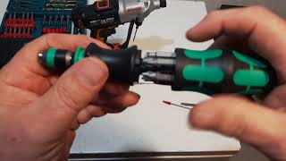 Wera Kraftform Kompakt Screw Driver review