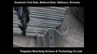 preview picture of video 'Guardrails Fish ends, Buffered ends, Stiffeners, W beams'
