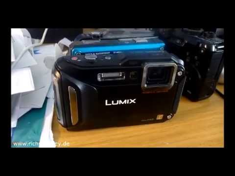Lumix FT5 GPS Test - Outdoor Kamera wasserdicht