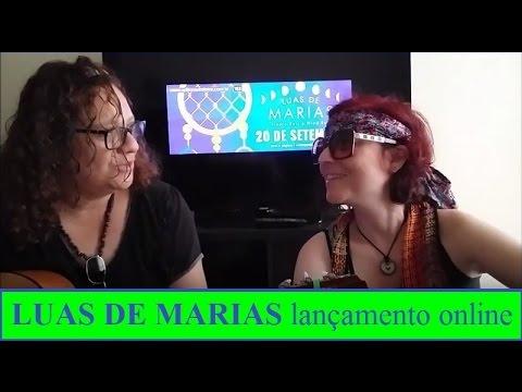 lançamento online do livro LUAS DE MARIAS
