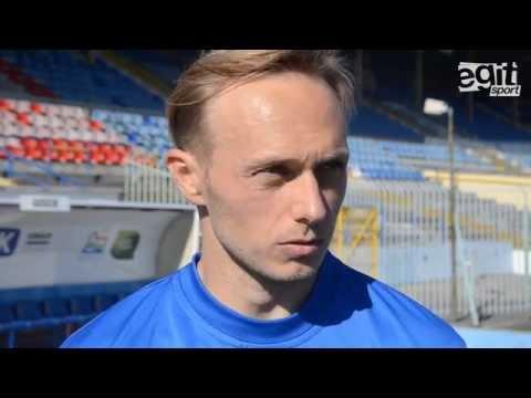 Rozmowa z Grzegorzem Lechem po meczu Stomil Olsztyn - Wisła Płock