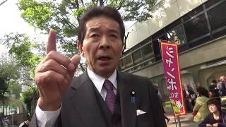 希望の党&立憲民主党をメッタ斬り-中野正志「日本のこころ」代表2017.10.18