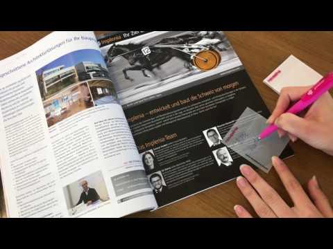 Hafti Produkte - transparente Haftnotizen