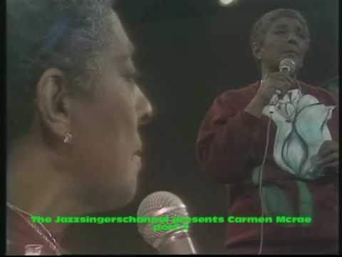 Carmen McRae in concert part 3 My Funny Valentine