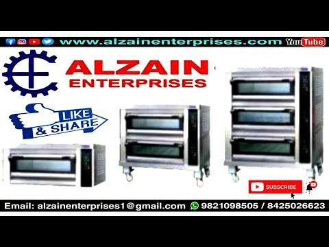 Triple Deck Bakery Oven
