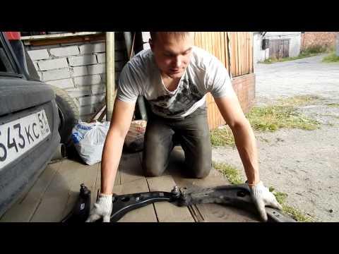 Мелкий ремонт передней подвески ЛАНСЕР 10  {Сидим В гараже}. (Случаи из жизни)