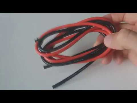 1M 8/10/12/14/16/18/20/22/24/26 AWG Silicone Wire SR Wire from Banggood