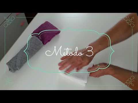 3 modi per piegare gli asciugamani  3 ways to fold towels