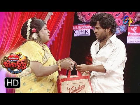 Racha Ravi Performance | Jabardsth |  30th March 2017    | ETV  Telugu