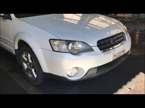 Разбор Subaru Legacy (Outback) BP9