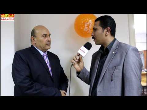 لقاء مع النائب / جمال العقبى من احتفالية عيد الام باتحاد نقابات الجيزة