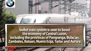 A Bullet Train System Linking <b>Metro Manila</b> To Provinces In Central Luzon