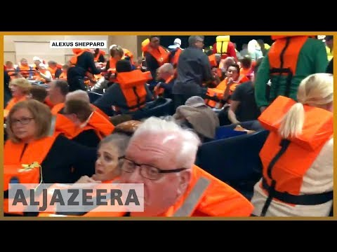🇳🇴 Norway: Passengers airlifted from stranded cruise ship | Al Jazeera English